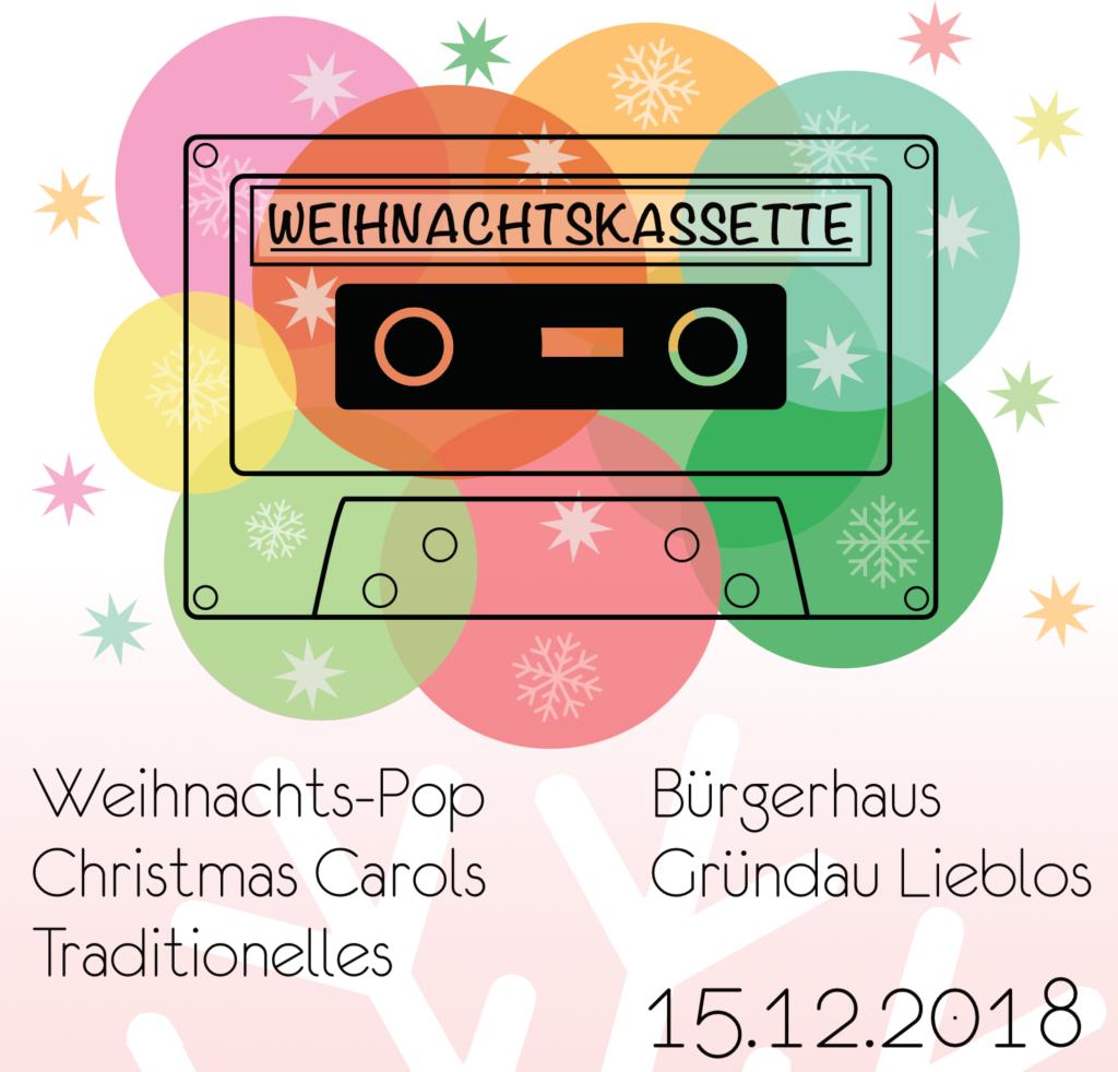 Weihnachtskassette Chorkonzert